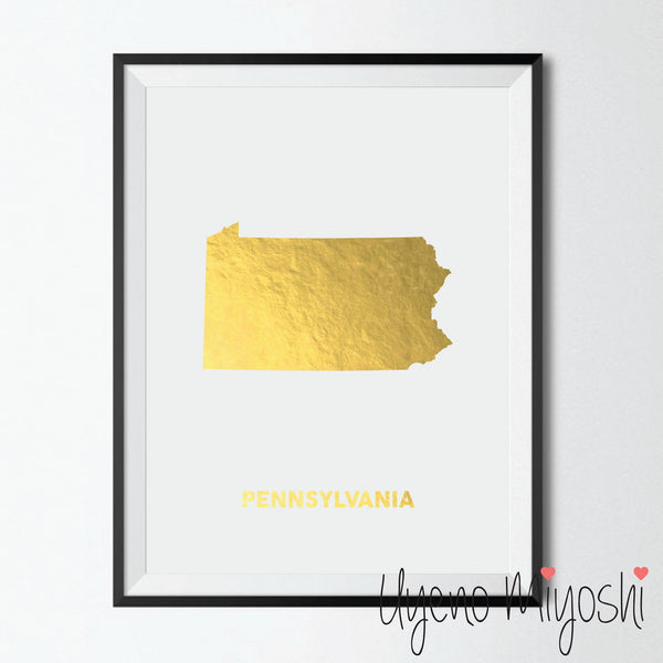 Map - Pennsylvania