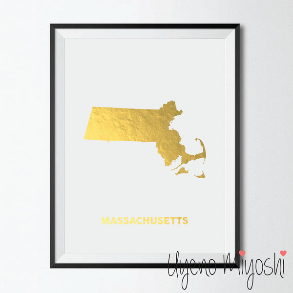Map - Massachusetts