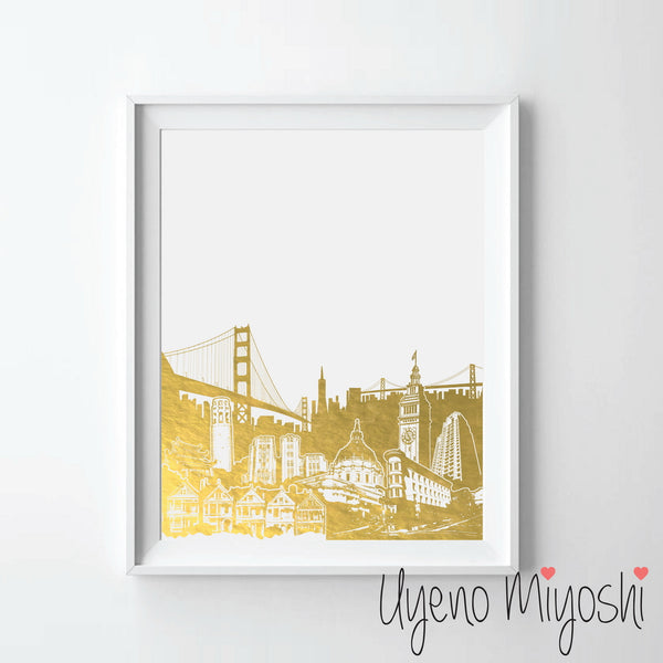 San Francisco City Sketch I