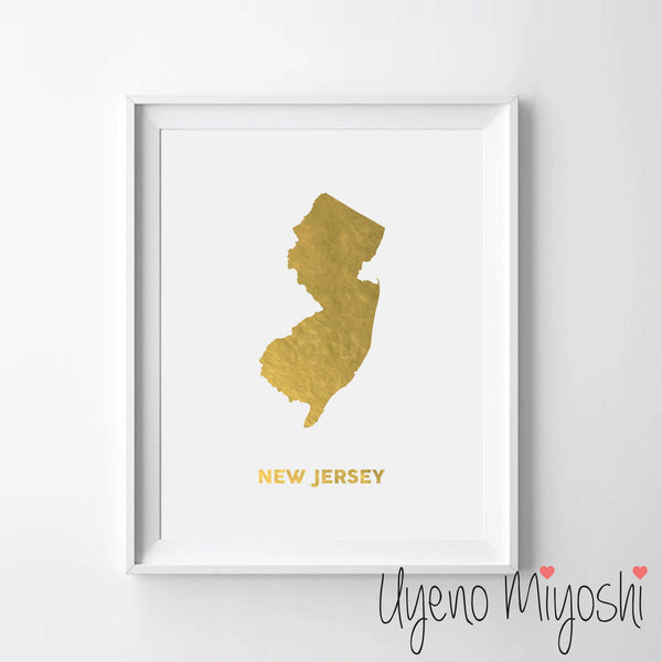 Map - New Jersey