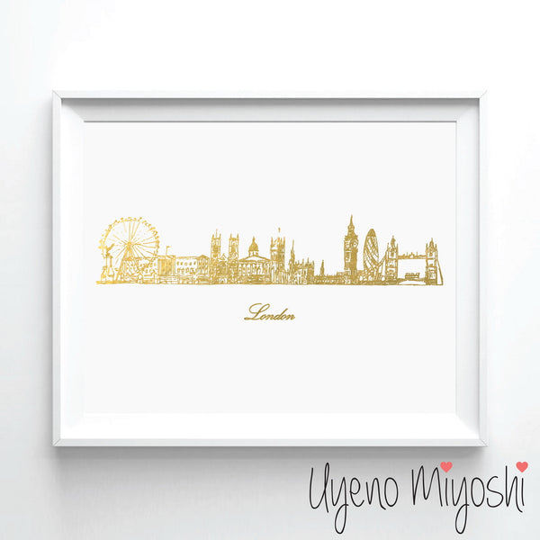 London Skyline Sketch