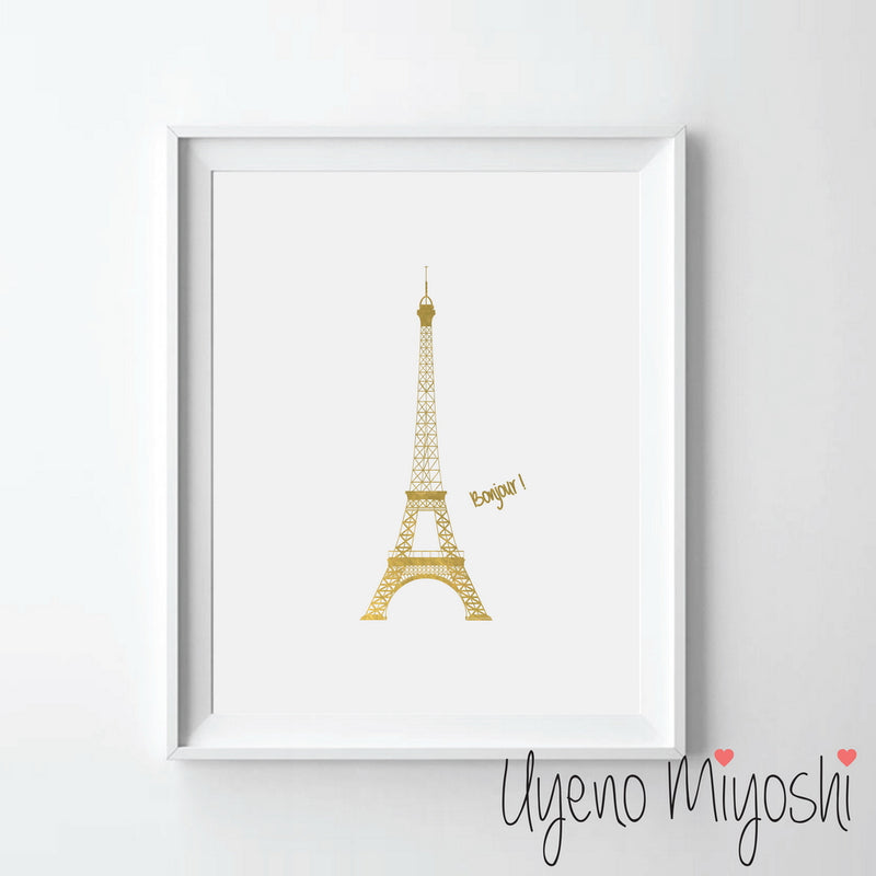 Paris Eiffel Tower I