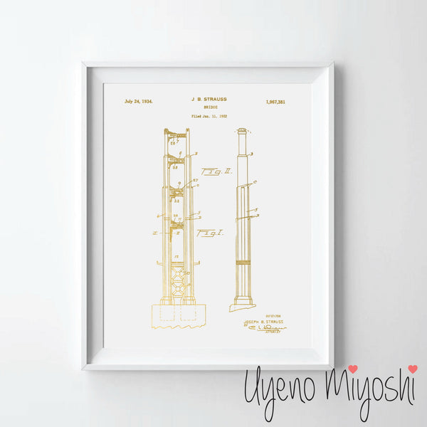 Patent - Golden Gate Bridge