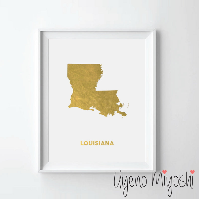 Map - Louisiana