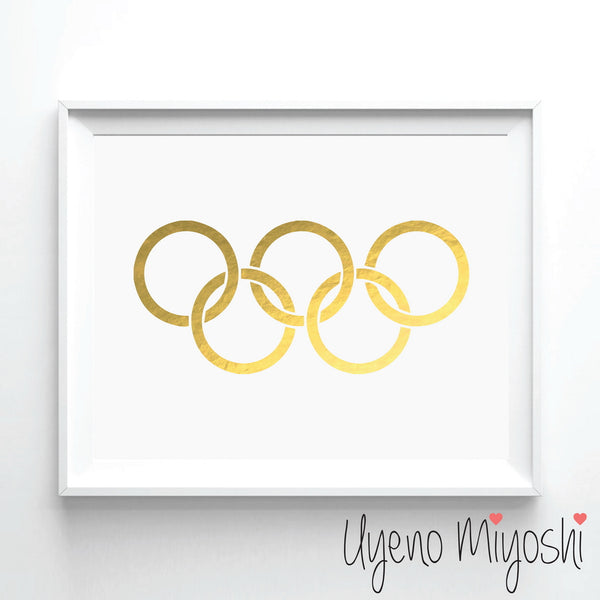 Olympic Logo Sign