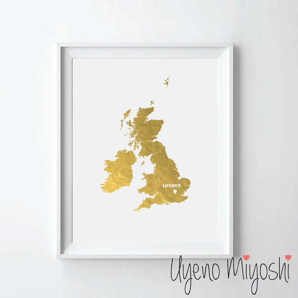 Map - United Kingdom