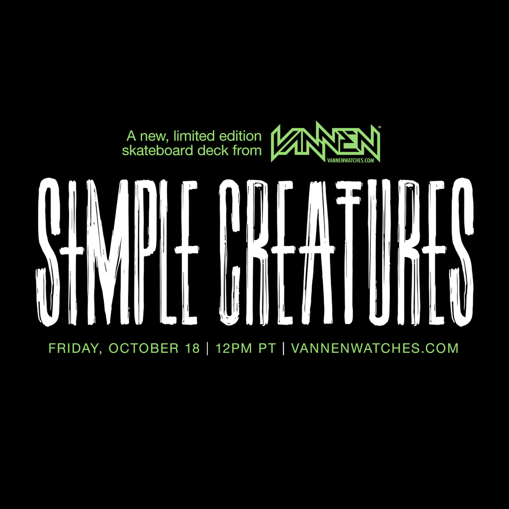 Simple Creatures skate deck Announcement image