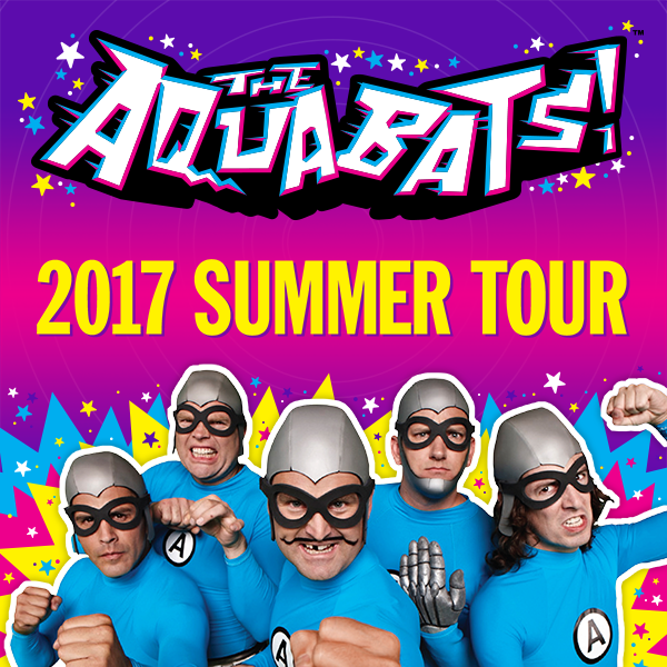The Aquabats Summer 2017 Tour Dates