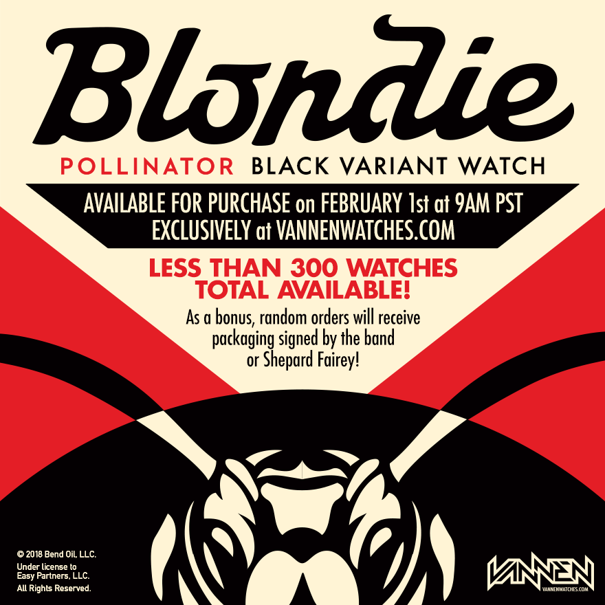Coming Soon: Limited Edition Blondie