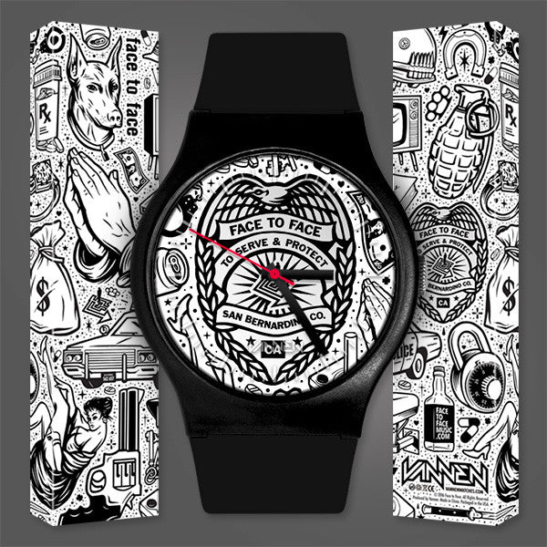 Limited Edition Face to Face Vannen Artist Watch Now Available for Pre-Order!