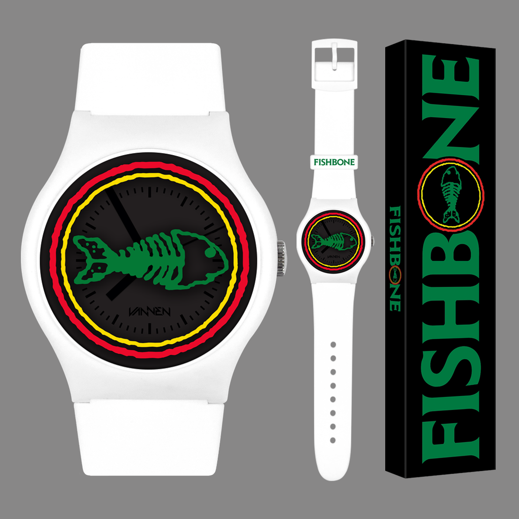 Fishbone White Variant Vannen Artist Watch