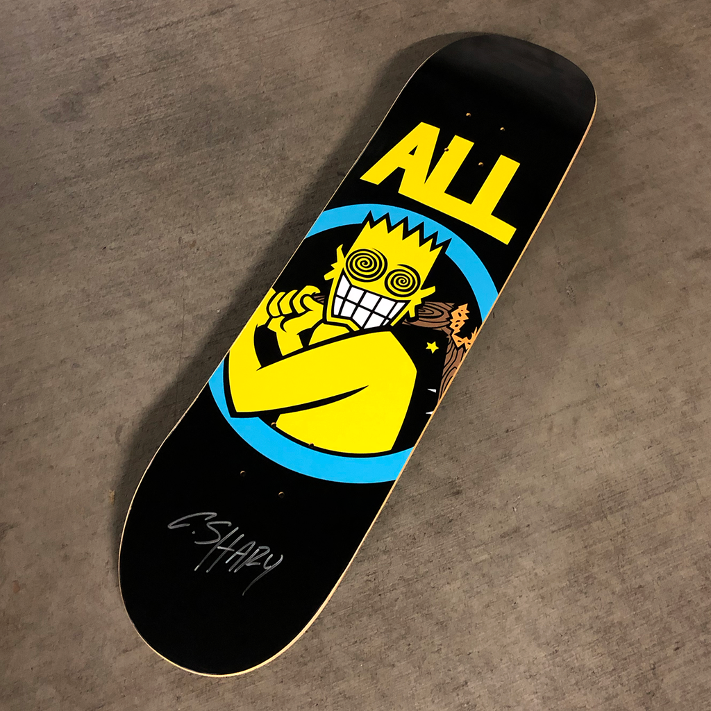 On Sale Now: Limited edition ALL Skateboard Deck from Vannen.