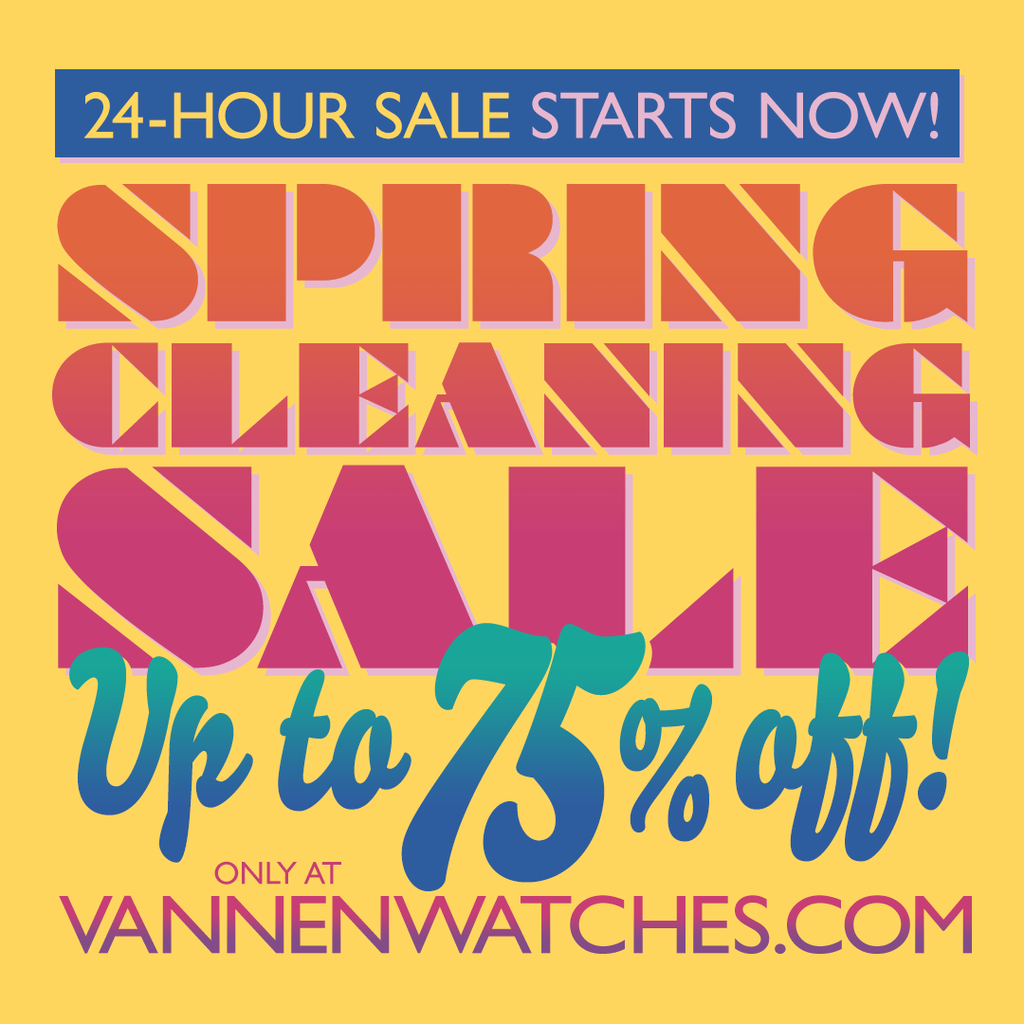 Vannen's Annual 24-Hour Spring Cleaning Sale Starts Now!