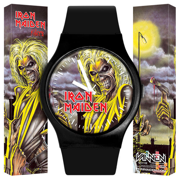 "Limited Edition IRON MAIDEN ""Killers"" Vannen Artist Watch on Sale Now!"