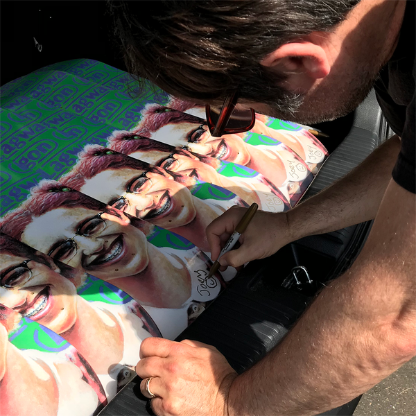 "Limited Edition Vannen x Lagwagon ""Let's Talk About Feelings"" Skateboard Deck Now Available For Purchase at VannenWatches.com"