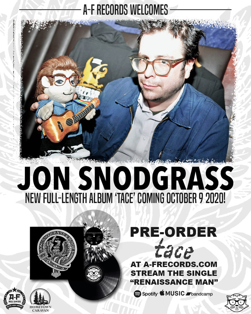 A-F Records to release new Jon Snodgrass album. Pre-orders now available!