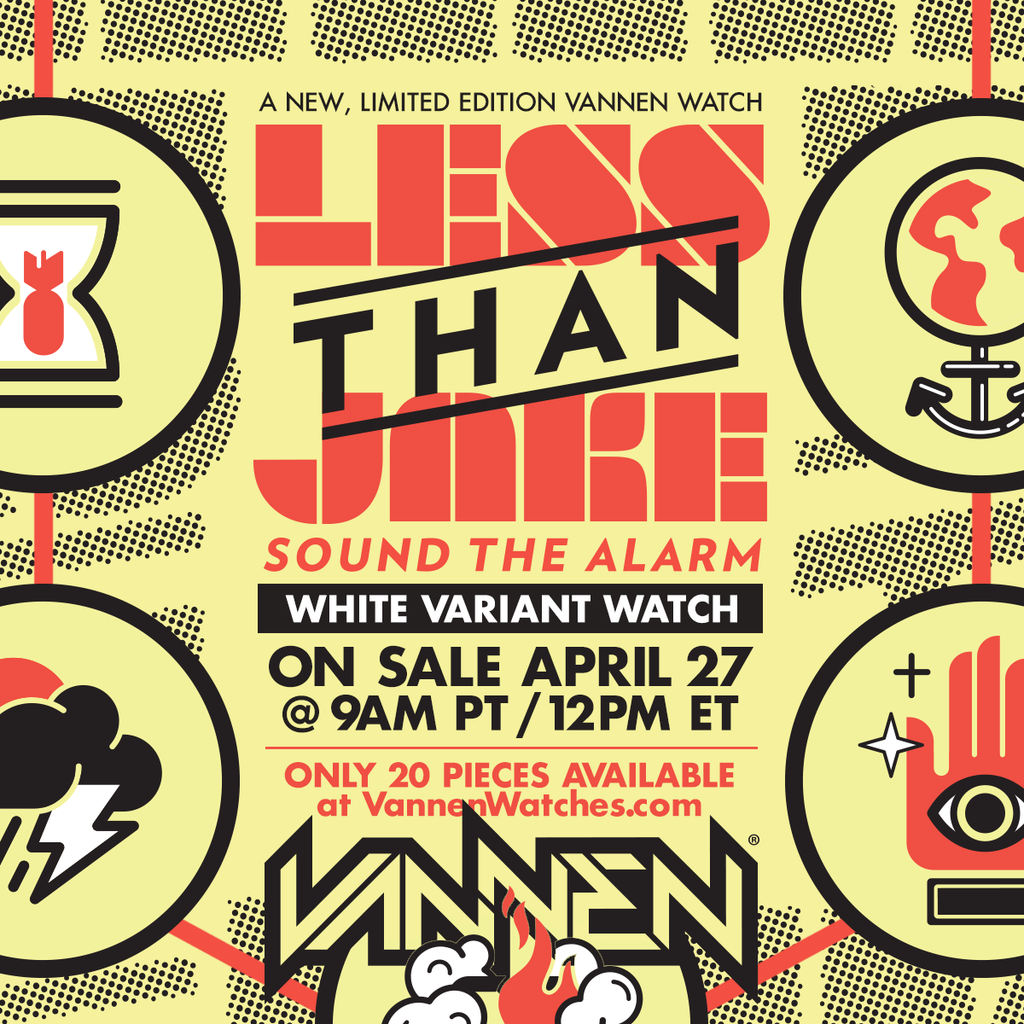 Limited edition Less Than Jake