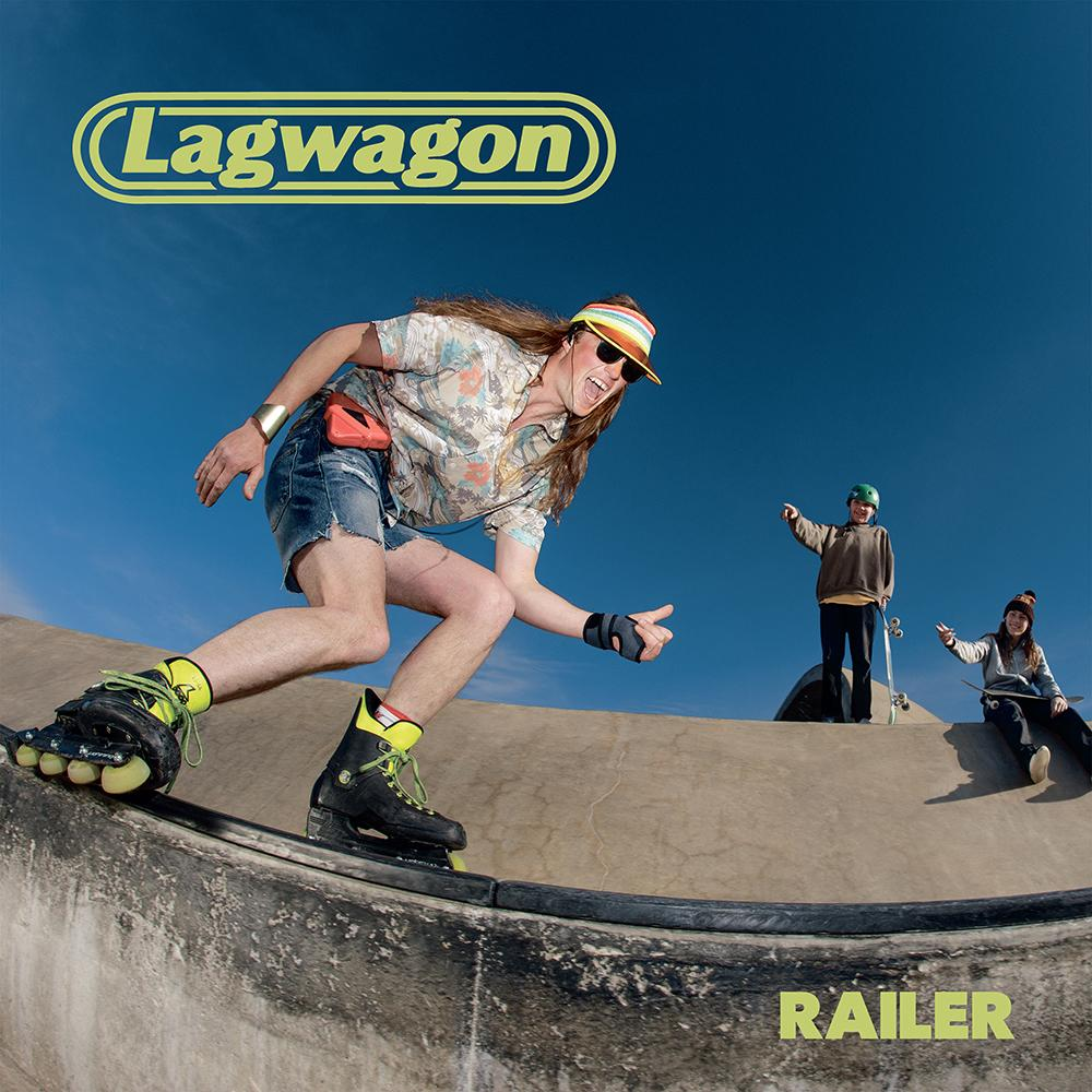 Lagwagaon Railer album cover