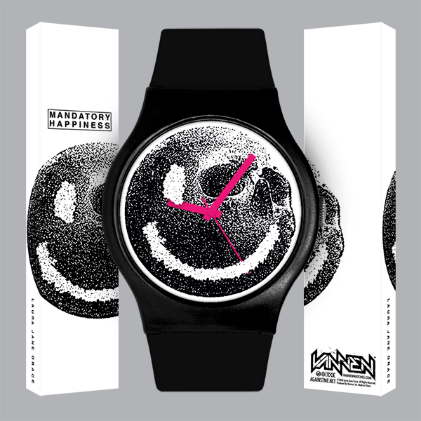 Limited Edition Laura Jane Grace Mandatory Happiness Watch Now Available for Pre-Order!