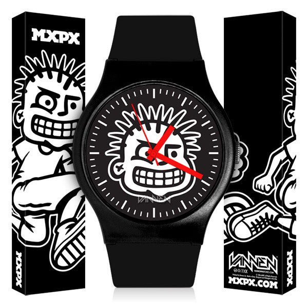 MXPX Limited Edition Vannen Artist Watch on Sale Now Exclusively at MXPX.com
