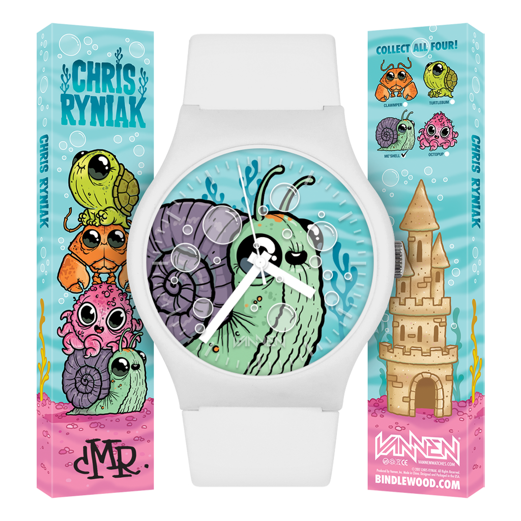 Limited edition Chris Ryniak 'Me'Shell' Vannen Artist Watch