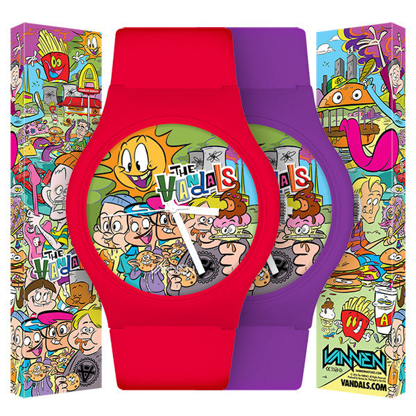 The Vandals Limited Edition Anarchy Burger Watch Now Available for Pre-Order!