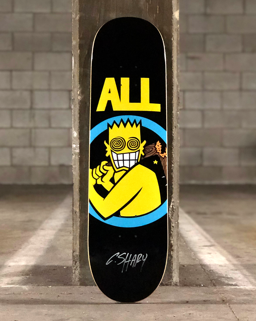ALL Skateboard Deck