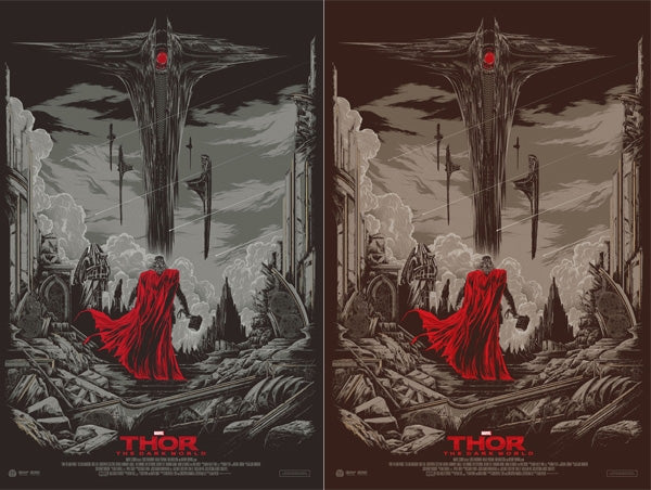 Thor: The Dark World Mondo Posters