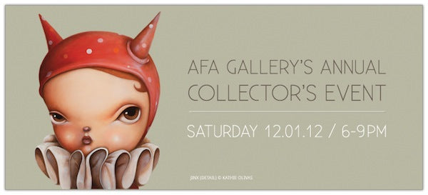 Collector's Event @ AFA Gallery (12.1)