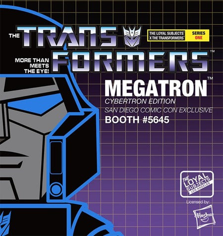 The Loyal Subjects x Transformers - Midnight Cybertron Megatron Figure