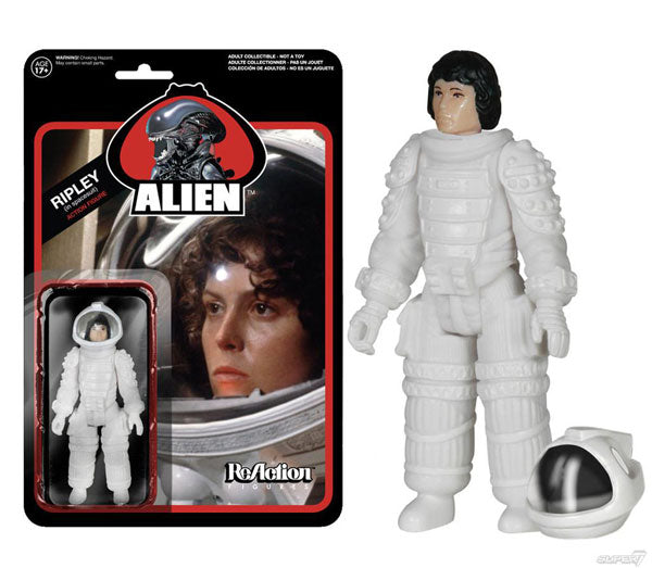 ALIEN Ripley in Spacesuit ReAction Figure