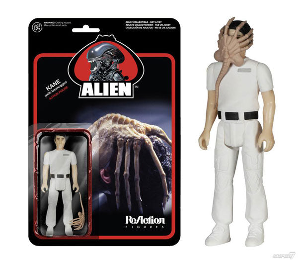 ALIEN Kane with Facehugger ReAction Figure