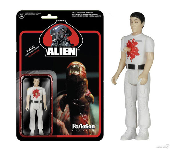 ALIEN Kane with Chestburster