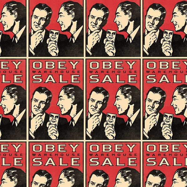 OBEY Giant Sample Sale