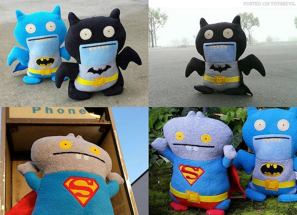 Ugly Dolls DC Comics Superman Batman