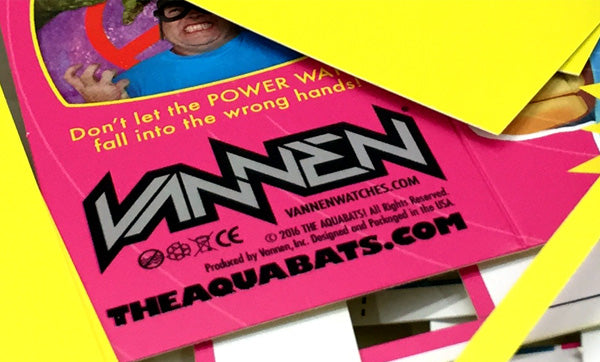 The Aquabats Special Edition Vannen Power Watch Packaging Teaser