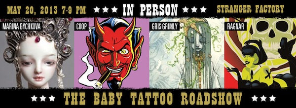 Baby Tattoo Roadshow