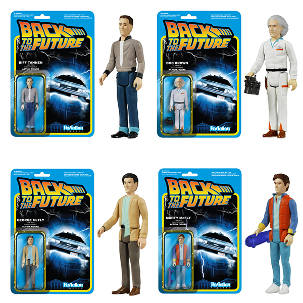 ReAction Figures - Back To The Future