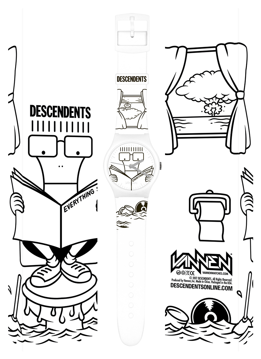 Limited Edition DESCENDENTS Everything Sucks Vannen Artist Watch
