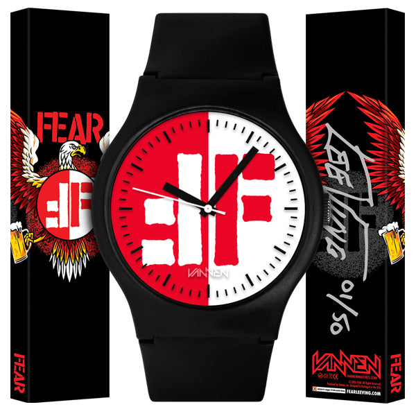 "Limited Edition FEAR ""The Watch"" from Vannen Artist Watches"