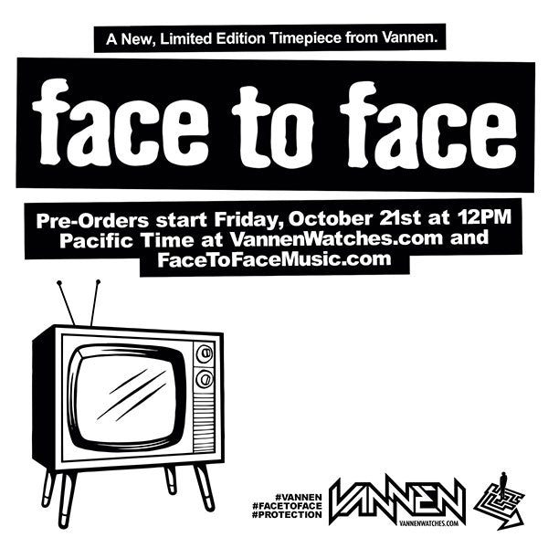 Coming Soon: Limited Edition Face to Face Vannen Artist Watch