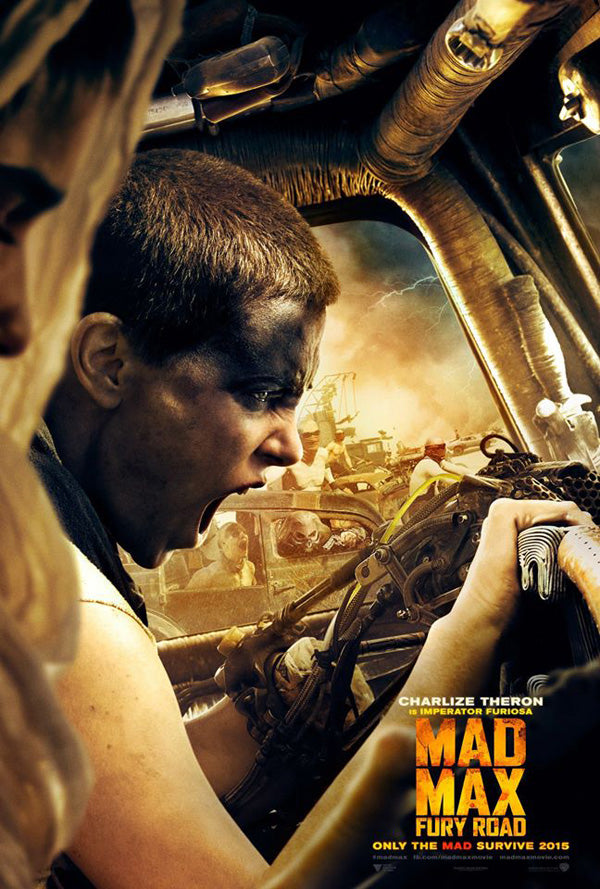 Mad Max: Fury Road Charlize Theron Character Poster