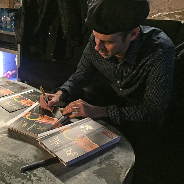 Greg Pete Signing Bouncing Souls Watch Packaging
