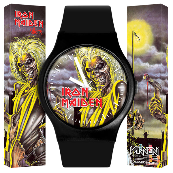 "Limited Edition IRON MAIDEN ""Killers"" Vannen Watch"