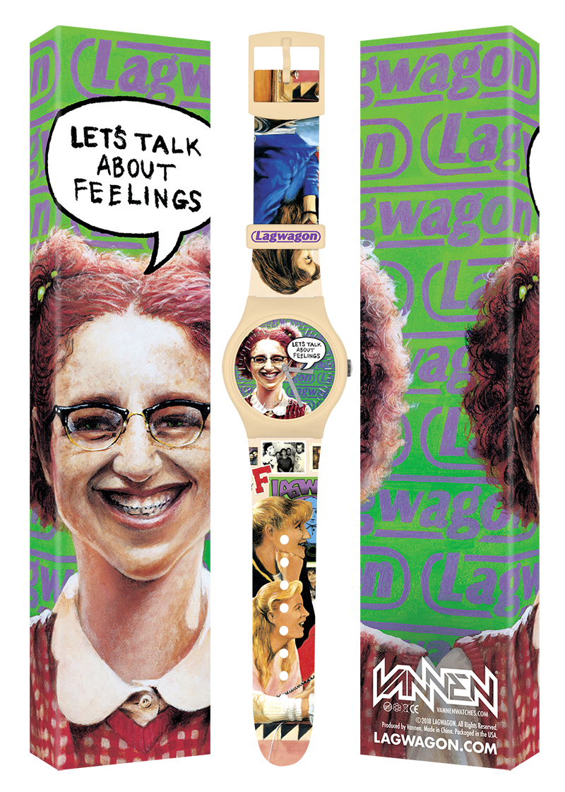 "Limited edition Lagwagon ""Let's Talk About Feelings"" Vannen Artist Watch"