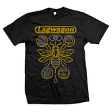 "Limited edition Lagwagon x Vannen ""Hang Time"" T-Shirt"