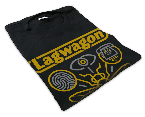 "Limited edition Vannen x Lagwagon ""Hang Time"" T-shirt on sale Monday, February 27th at VannenWatches.com"