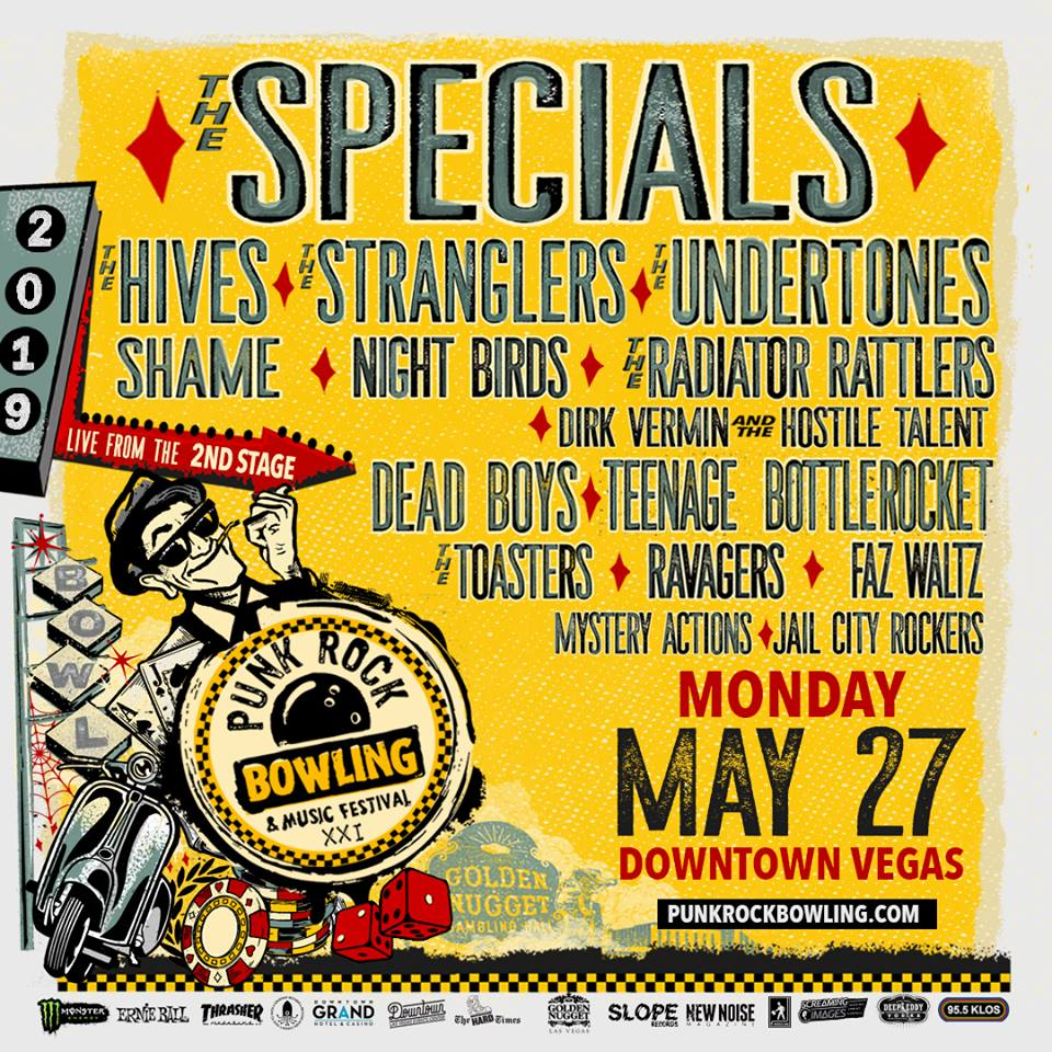 Punk Rock Bowling 2019 Monday Lineup