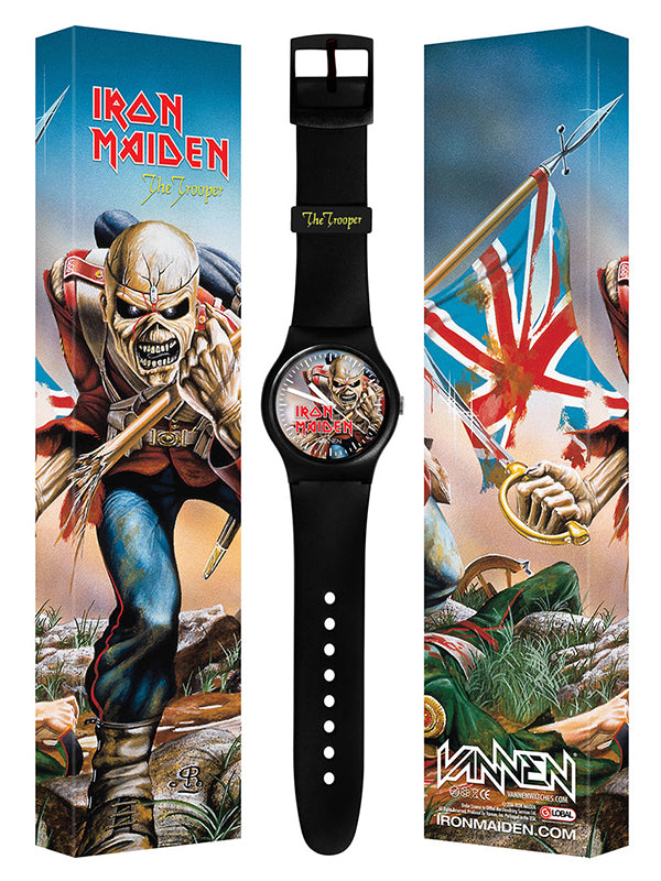 "Limited edition IRON MAIDEN ""The Trooper"" Vannen Watch"