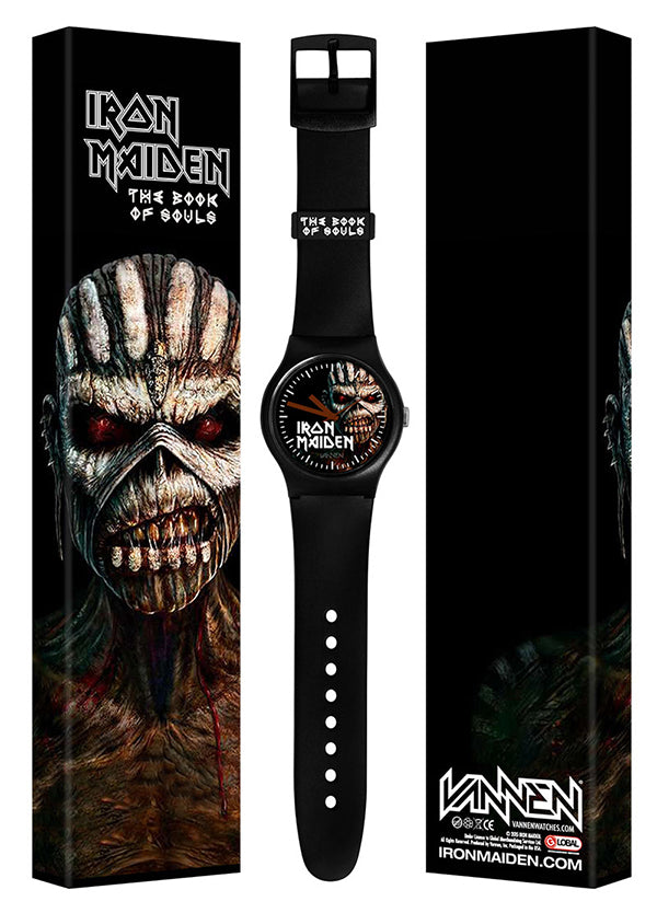 "Limited edition IRON MAIDEN ""The Book of Souls"" Vannen Watch"
